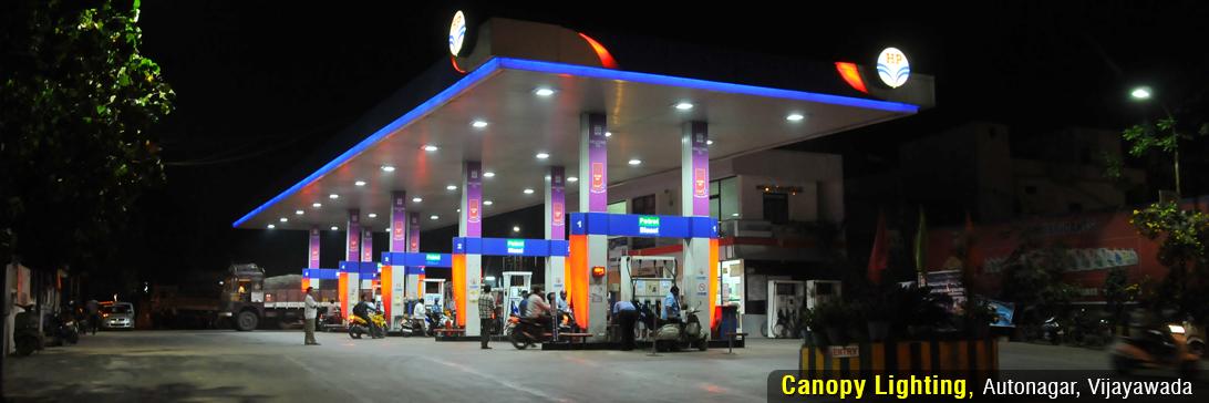 Effe Lights at Autonagar Petrol Bunk
