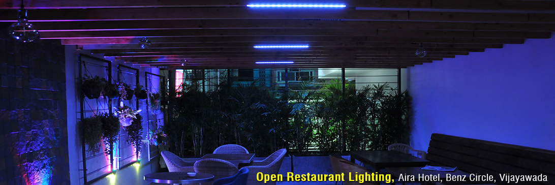 Effe Lights at Aira Hotel