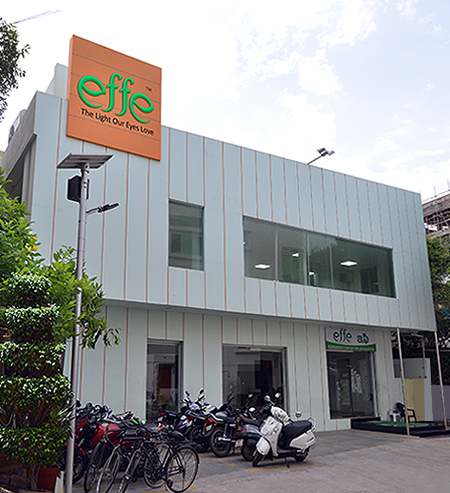 Effe LED lights showroom-Vijayawada,India