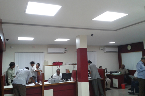 Effe Installation in Bhadradri bank