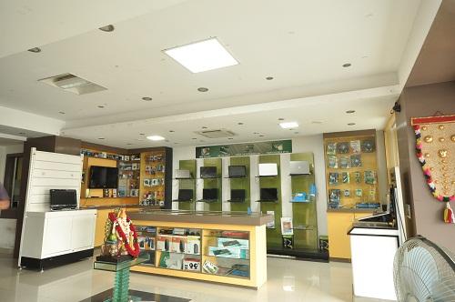 Effe LED lights Installations at Digital World