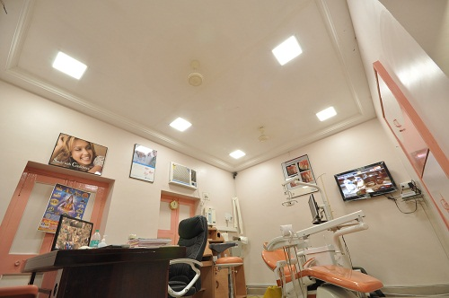 Effe LED lights Application in Family Dental care