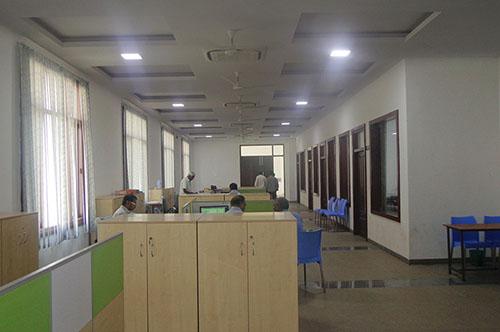Effe Ledlights Installation at vignan university